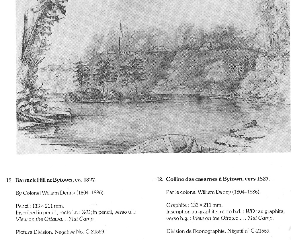 Barrack Hill, c. 1827