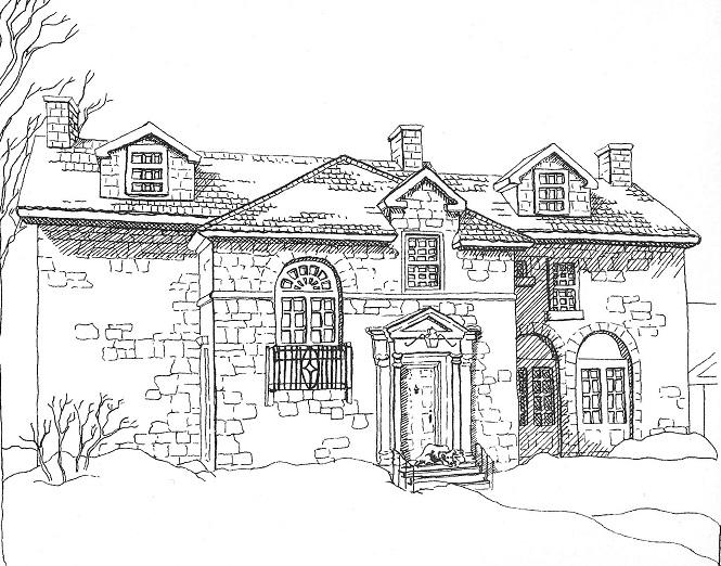 George Bayne House, built 1828, Ottawa, Canada, pic
