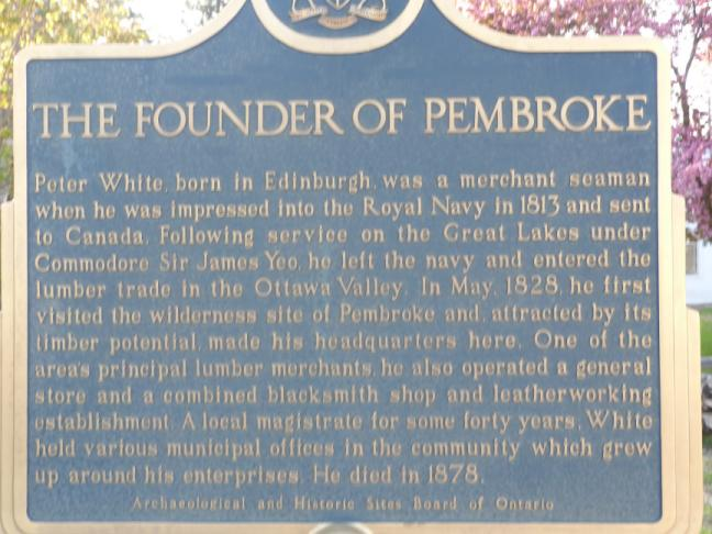 Peter White, founder of Pembroke