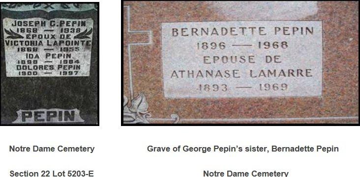 Pepin Family of Ottawa, Ontario, Canada 1
