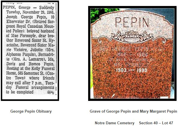 Pepin Family of Ottawa, Ontario, Canada 9