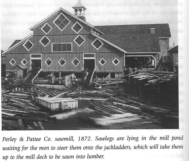 Perley and Pattee Lumber Mill
