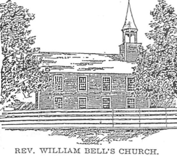 Earliest Presbyterian Church in Perth, Ontario (1817-1832)
