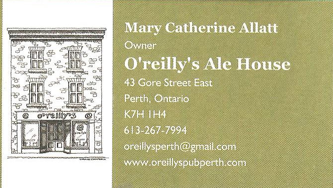 O'reilly's Ale House(1817-1832)