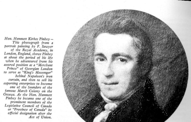 Hamnett Pinhey's Portrait