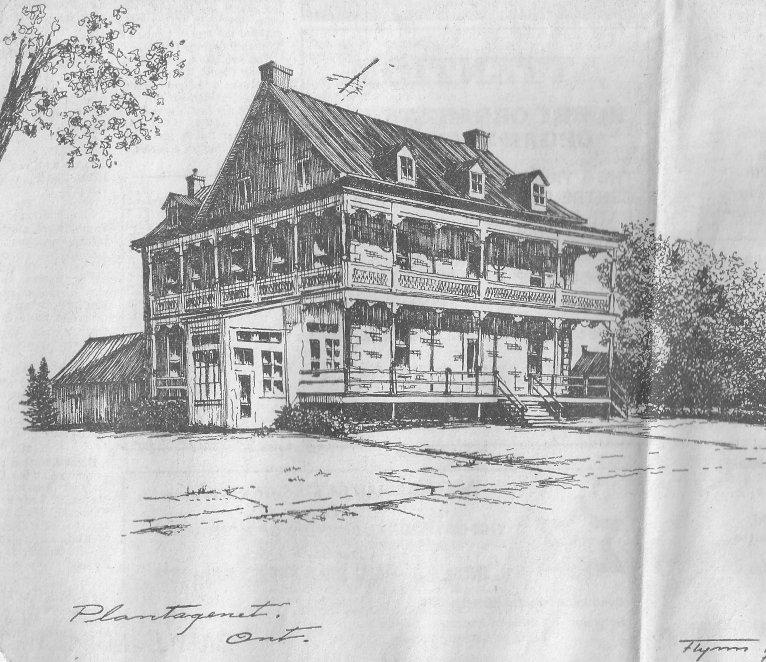 Old Hotel at Plantagenet, Ontario, Canada