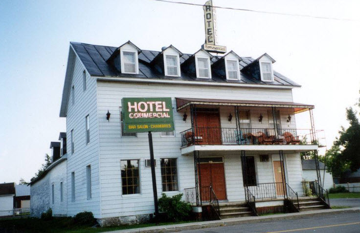 Old Commercial Hotel at Plantagenet, Ontario, Canada