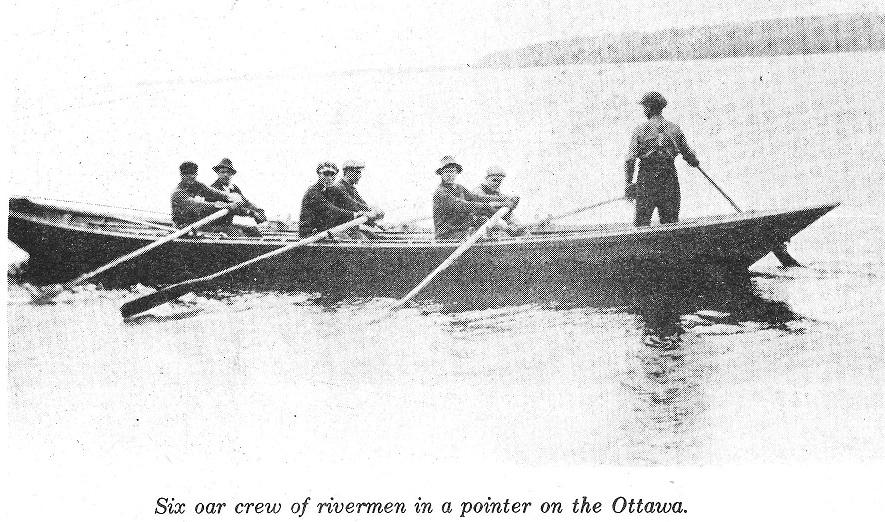 Six Oar Pointer Boat