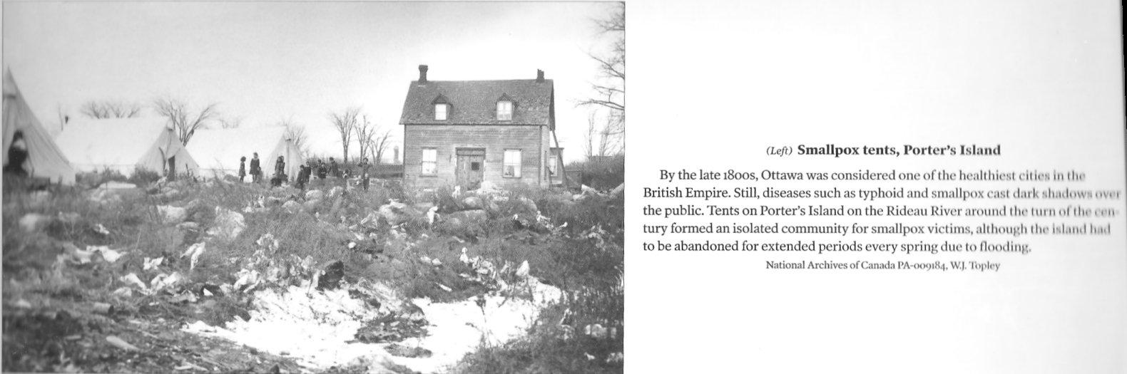 Porter's Island Quarantine Station, Ottawa, Ontario, Canada
