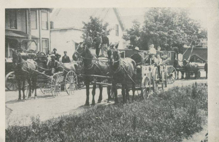 Portland / Newboro, Ontario, 1910