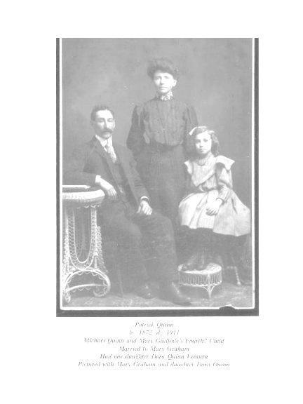 Patrick Quinn and Mary Graham