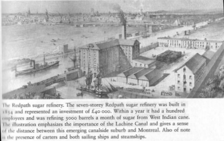 Redpath Sugar Refinery in Montreal