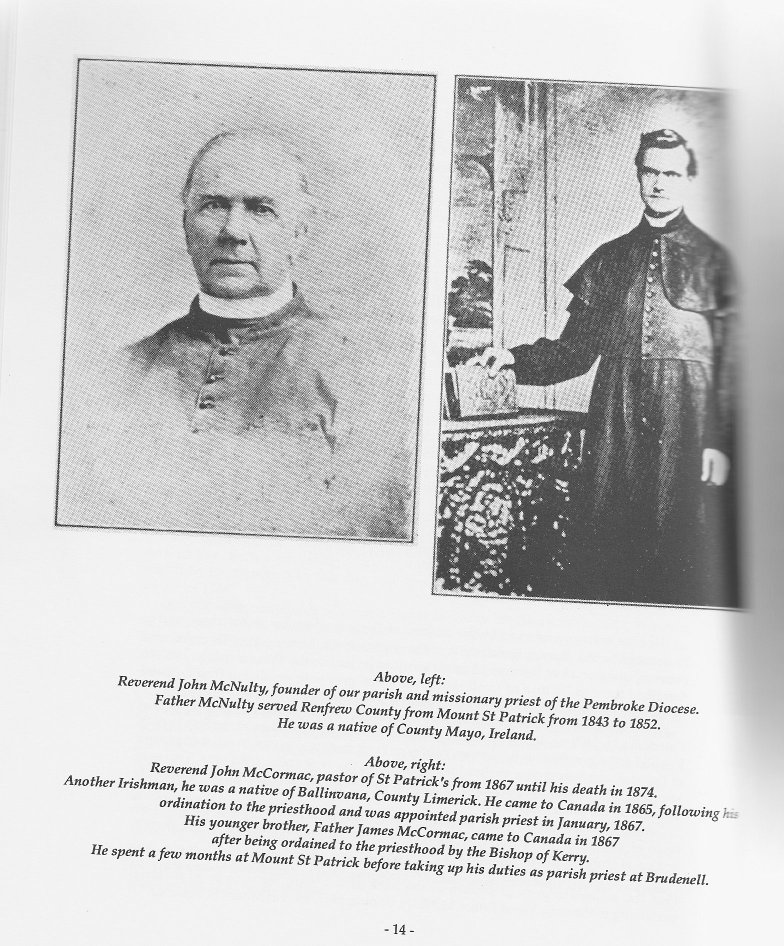Father McNulty and Father McCormac -- Renfrew County