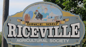 Riceville Fair occurs in September