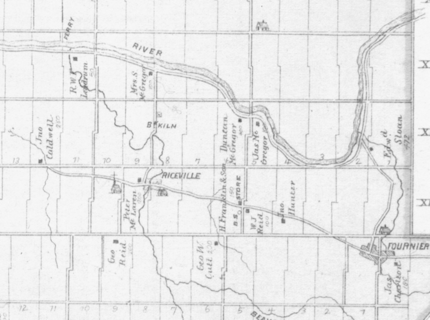 Riceville, South Plantagenet in 1879