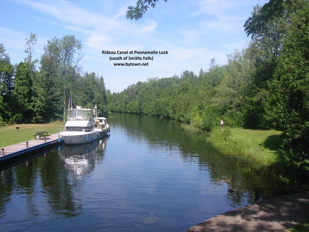 Poonamalie, Ontario, Rideau Canal