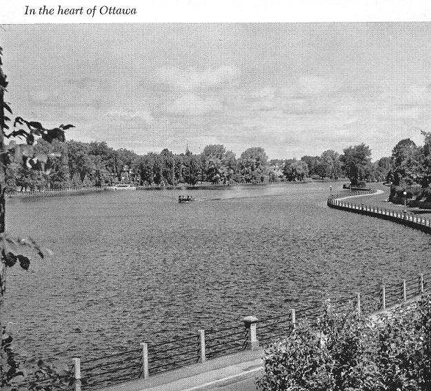Rideau Canal in the Heart of Ottawa