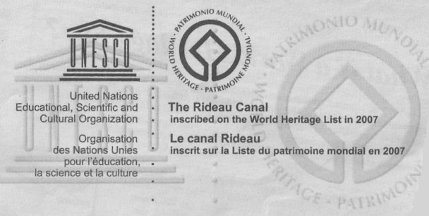 Rideau Canal - A UNESCO World Heritage Site