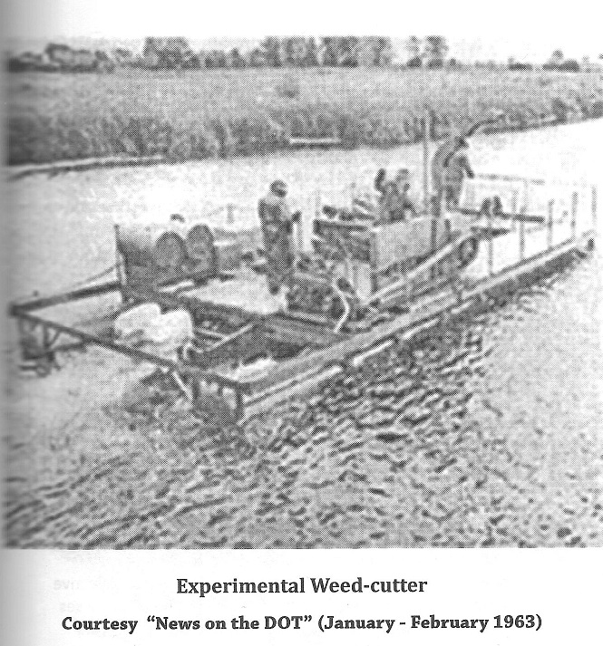 Experimental Weed Cutter from the Rideau Canal in 1963