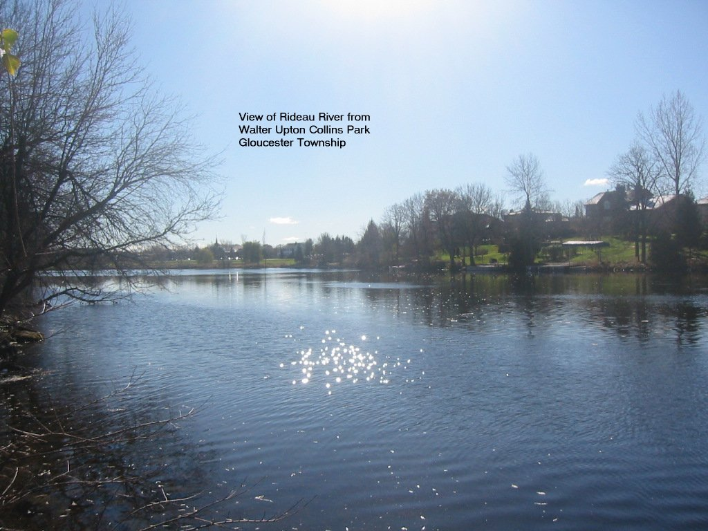 Rideau River at Walter Upton Collins Park