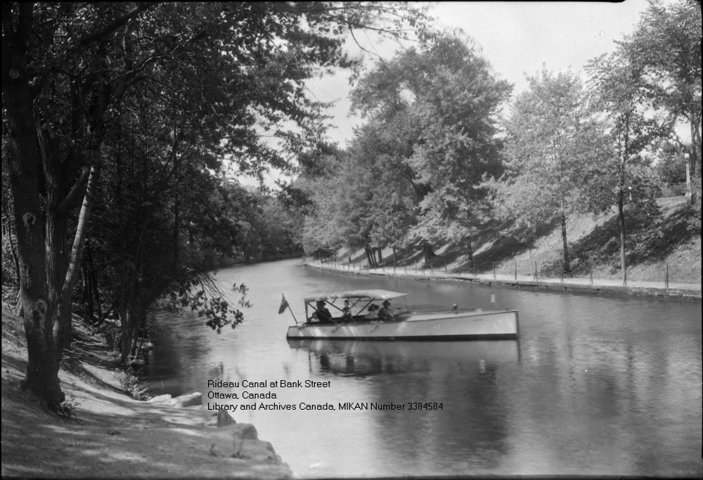 Rideau Canal - Ottawa, Ontario, Canada
