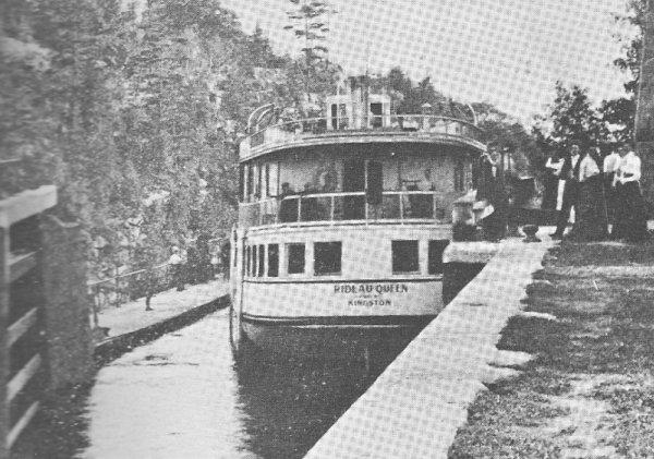 Steamer Rideau Queen