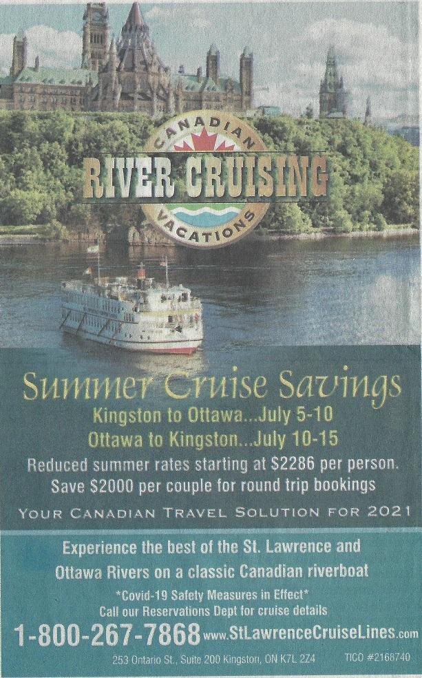Ottawa area River Cruises