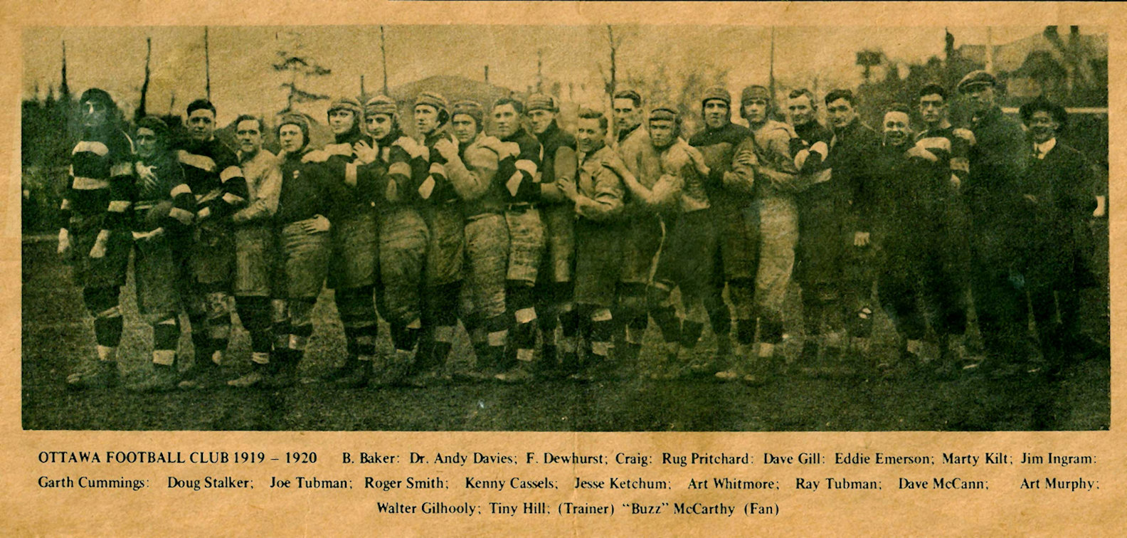 Ottawa Football Club, 1919-20
