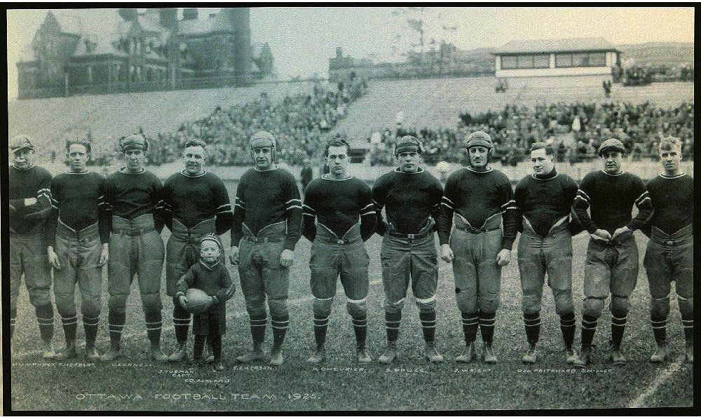 Ottawa Rough Riders, Grey Cup Champions in 1925