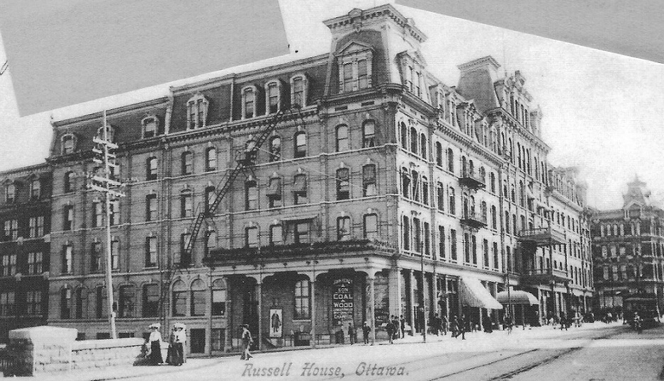 Russell Hotel, 1900