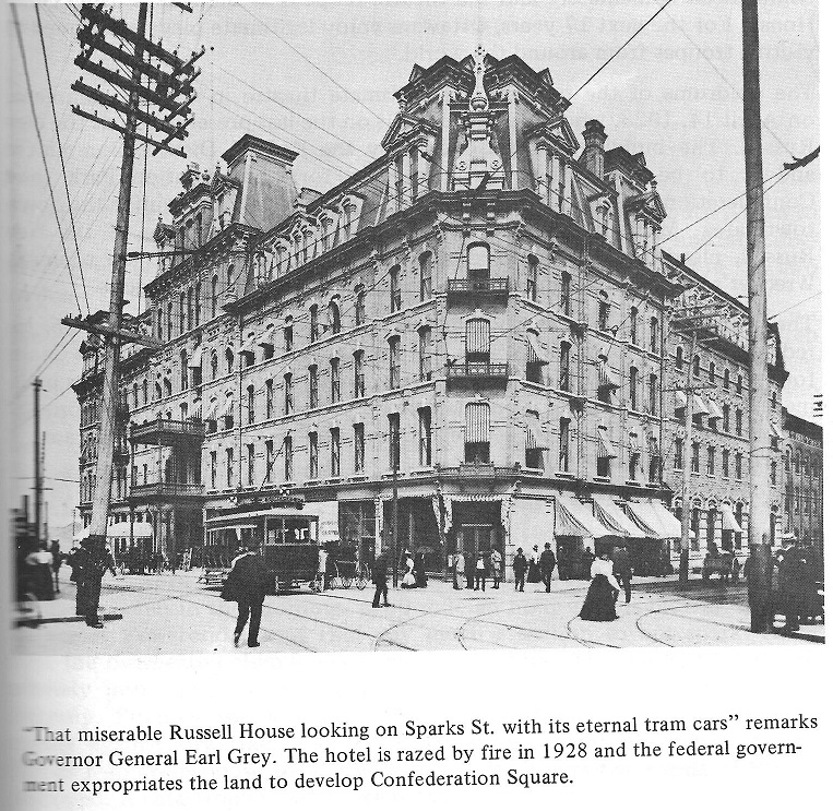 Russell House Hotel in Downtown Ottawa