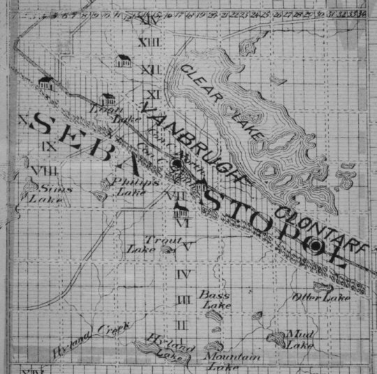 Sebastapol Township, including Lake Clear, c. 1879