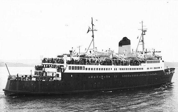 Ship S.S. Sarnia, 1892