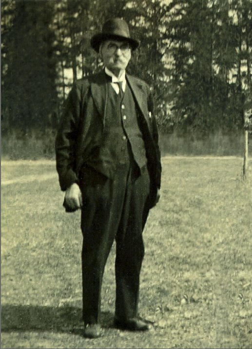 Picture of Patrick T. Skeffington, 1920's