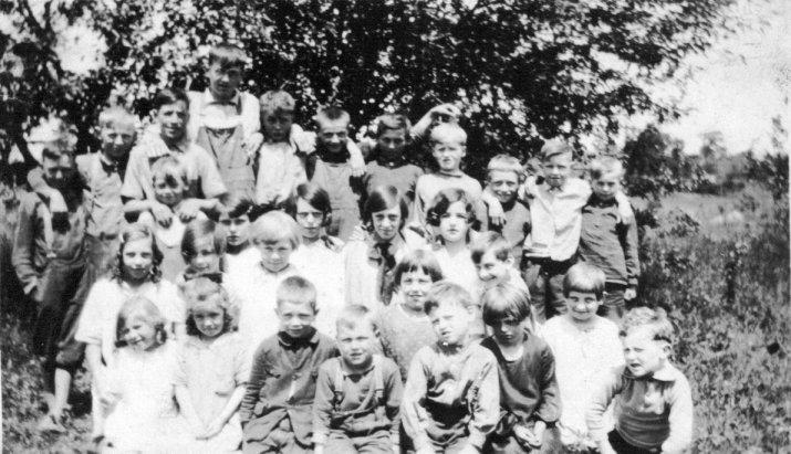 School Class at Stanley's Corners, 1927