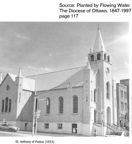 St. Anthony`s Church, Booth and Gladstone Avenue, Ottawa, Canada