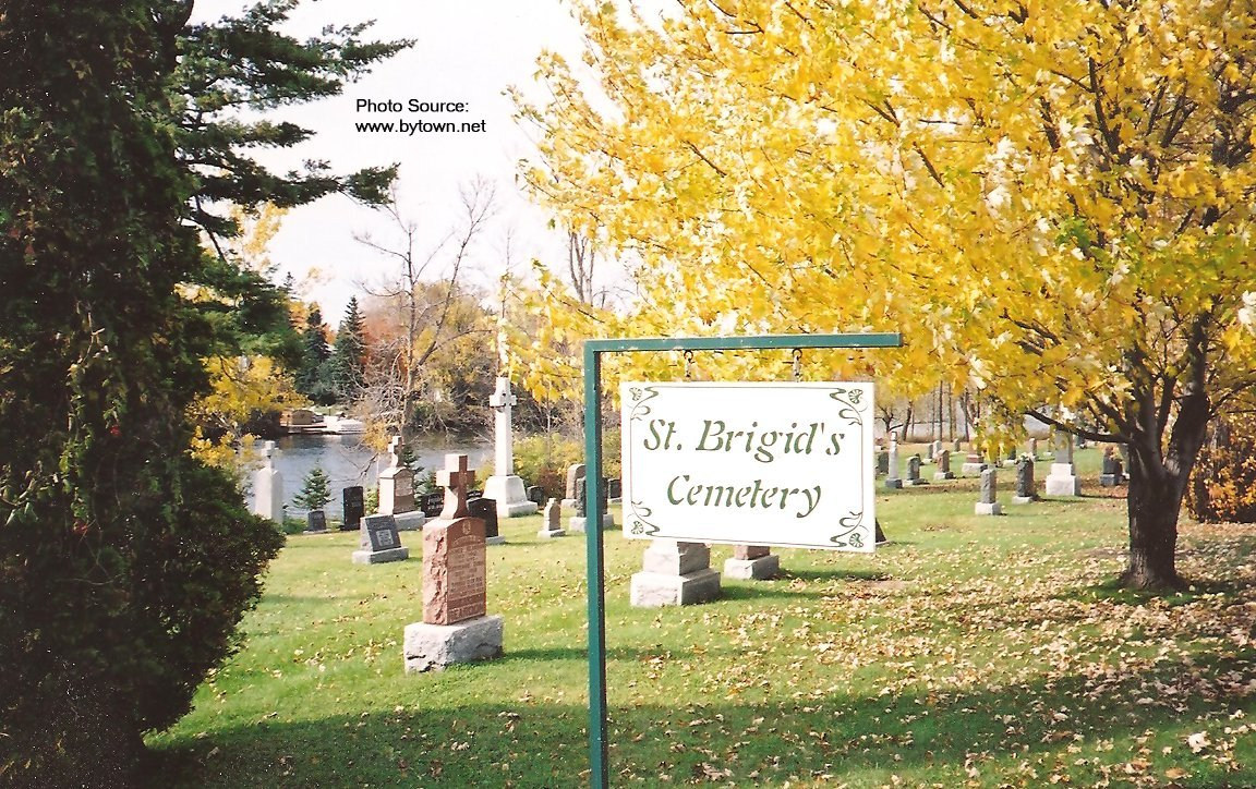 St. Brigid's Cemetery, Osgoode Township, Ontario, Canada
