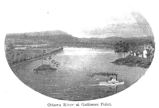 steamer at gatineau point