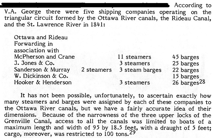 Steamer Barges in Triangular Route