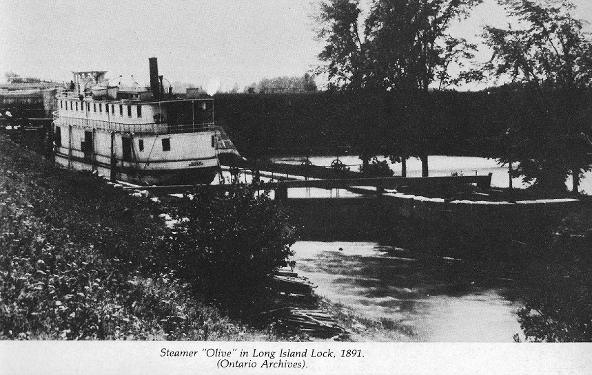 The Steamboat Olive at Long Island, 1891