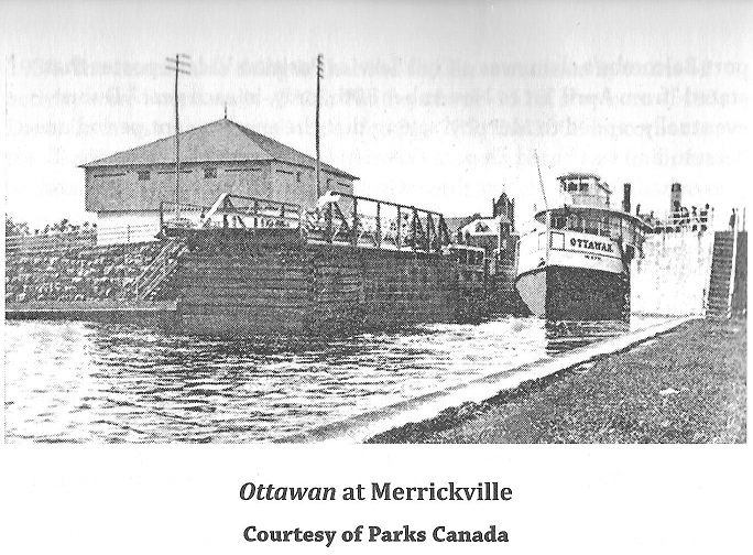 steamer ottawan at merrickville