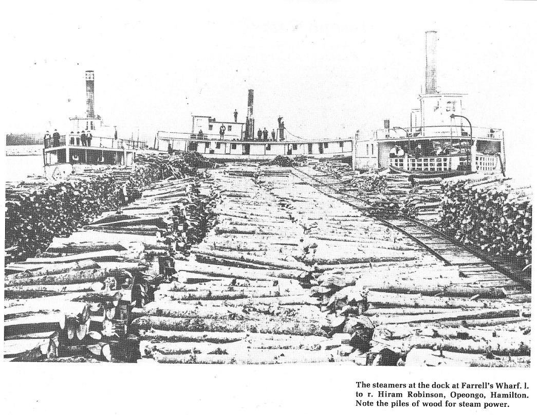 3 steamers at Farrell's Landing