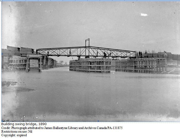 Stewarton Bridge, Ottawa, Ontario, Canada, Photograph 1