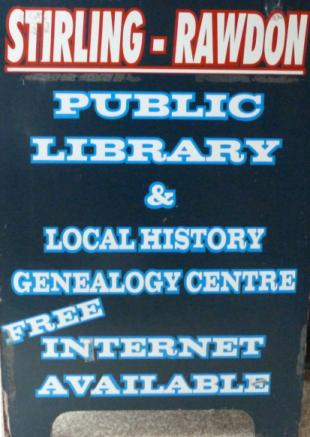 Library and Genealogy Centre at Stirling, Ontario, Canada