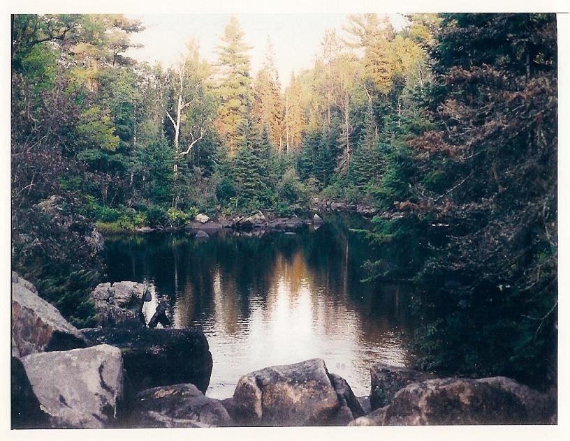 Speckled Trout Creek in Renfrew County, Ontario, Canada