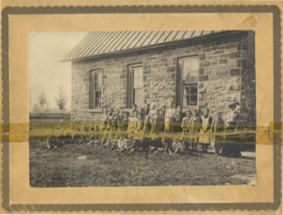 Stone School House, Bank Street, Metcalfe, Ontario