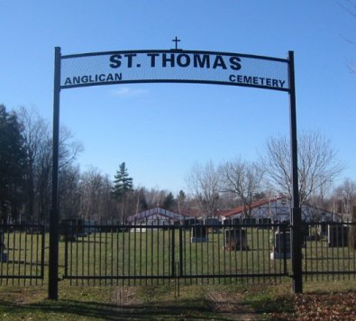 St. Thomas Anglican Cemetery, Stittsville, Ontario, Canada