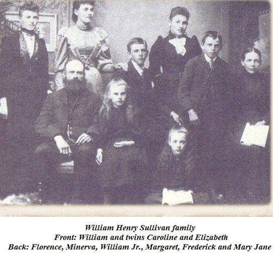 Family of William Henry Sullivan