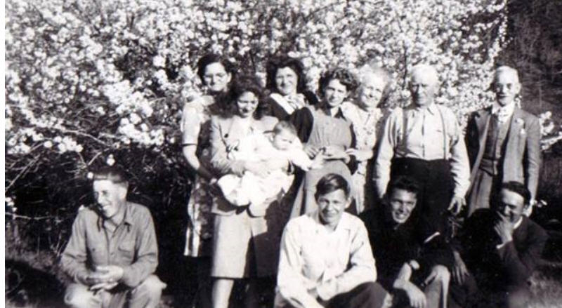 Sweeney/Thorneycroft Family Photograph