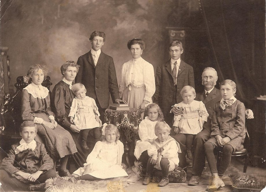 Christopher Switzer family, Nepean Township, Ontario, Canada